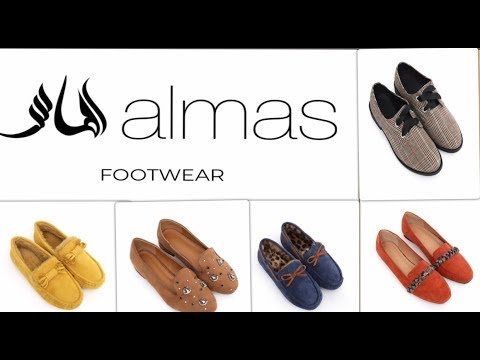 Almas Winter Footwear Collection 2019 with price for girls