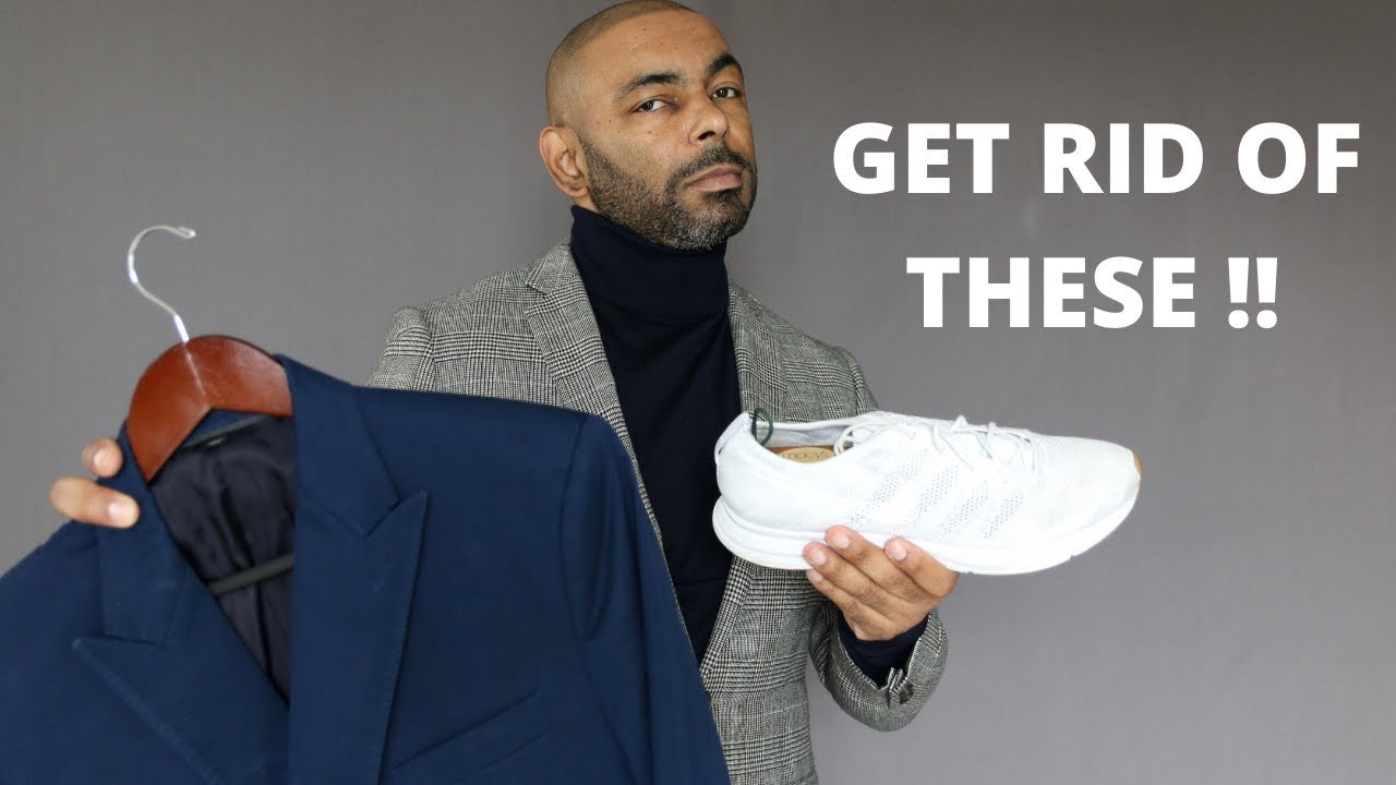 10 Clothing Items Men Should Get Rid Of