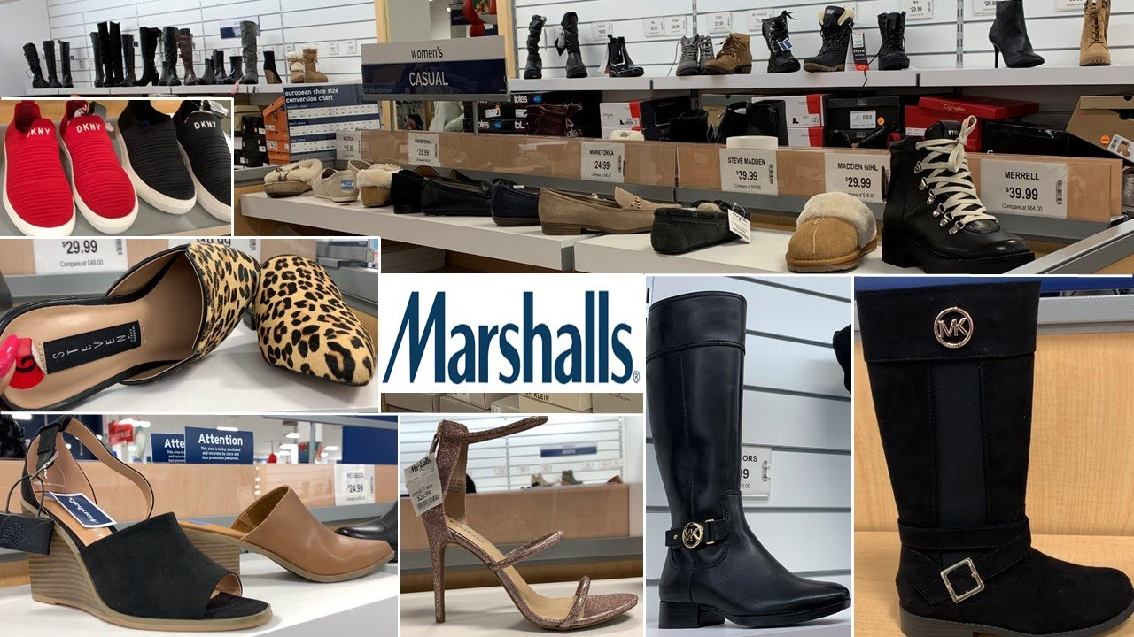 Marshalls Designer Shoes Boots Sneakers   Shop With Me 2019