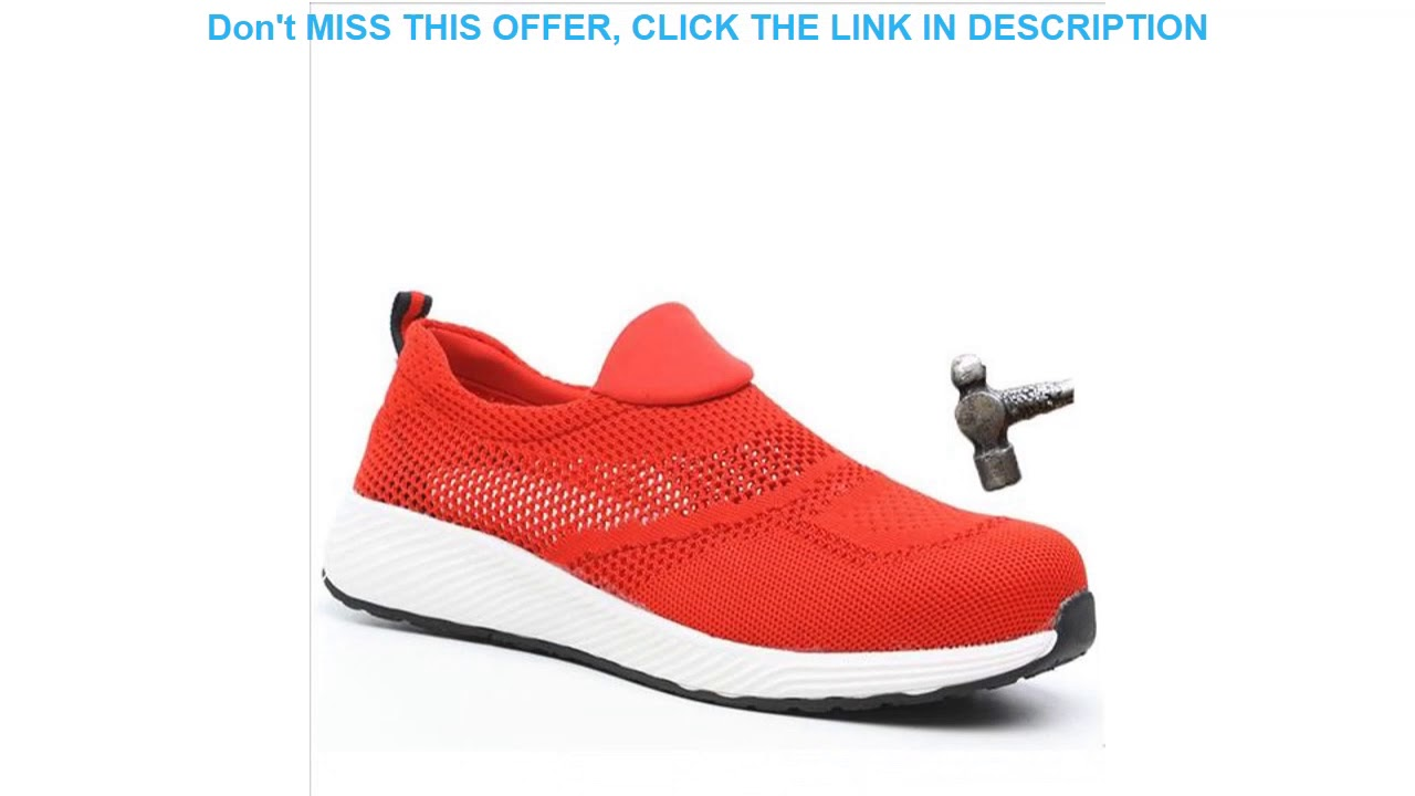 Deal Safety Shoes Brand Lightweight Steel Toecap Unisex Work Safety Boots Breathable Men Women Shoe