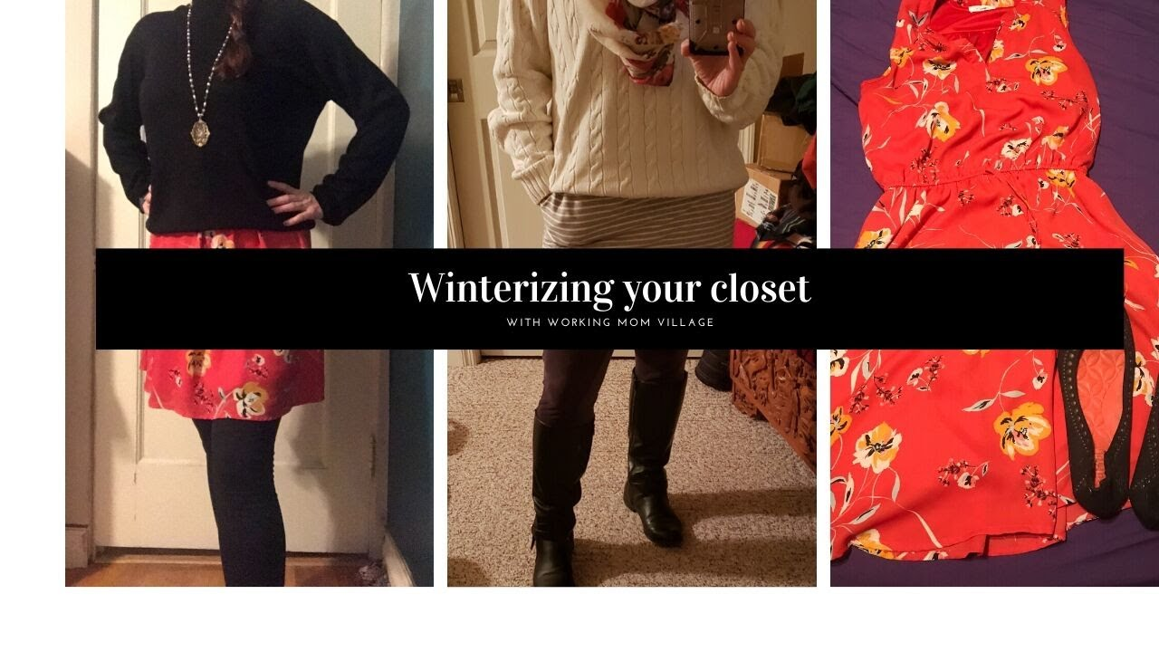 Winterize your closet!
