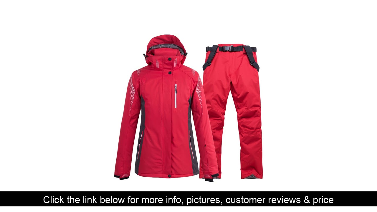 ☘️ Skiing jackets and pants Men and women ski suit Snowboarding sets Very Warm Windproof Waterproof