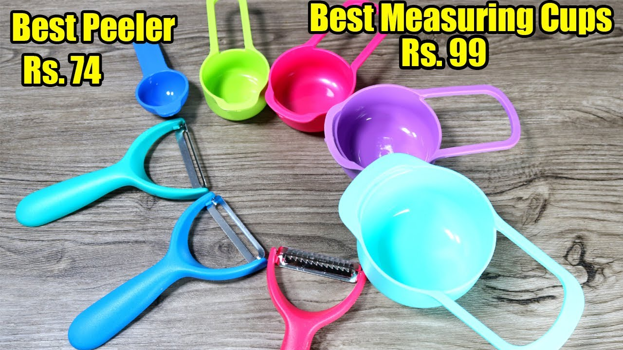 Best Peelers and Measuring Spoons Unboxing, Review and Price in India – Reviews By || Unbox Heaven